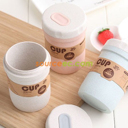 300ML Wheat Straw Soup Cup